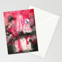 Upside Down - coracrow Stationery Cards