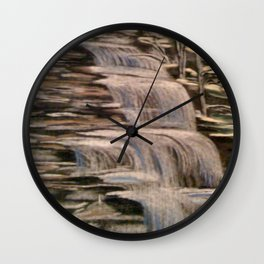 Waterfalls Wall Clock