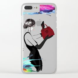 Handbag Whore Clear iPhone Case