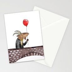 Billy was having such a splendid day Stationery Cards