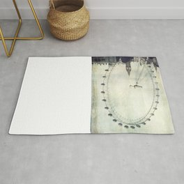Big Ben and London Eye Rug