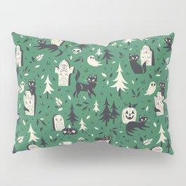 Cemetery Cuties (Green) Pillow Sham