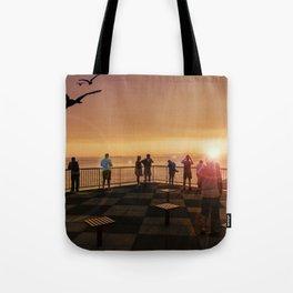 Elliott Bay Rays Tote Bag