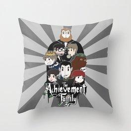 The Achievement Family  Throw Pillow