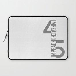 RESIST / IMPEACH 45 Laptop Sleeve