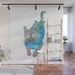 Cat Collage Wall Mural