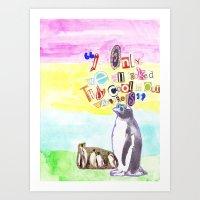 Wayfarer Cool Art Print