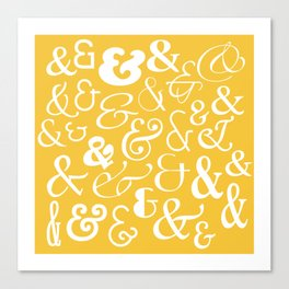 We Are Ampersands Canvas Print