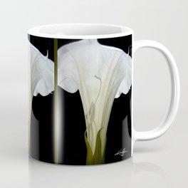 Moon Flower by kathy Morton Stanion Coffee Mug