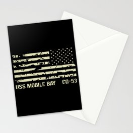 USS Mobile Bay Stationery Cards