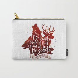 I solemnly swear - white Carry-All Pouch