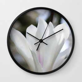 real magnolias Wall Clock