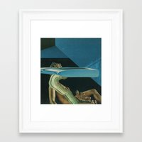 glitch Framed Art Prints featuring Glitch by Jesse Treece
