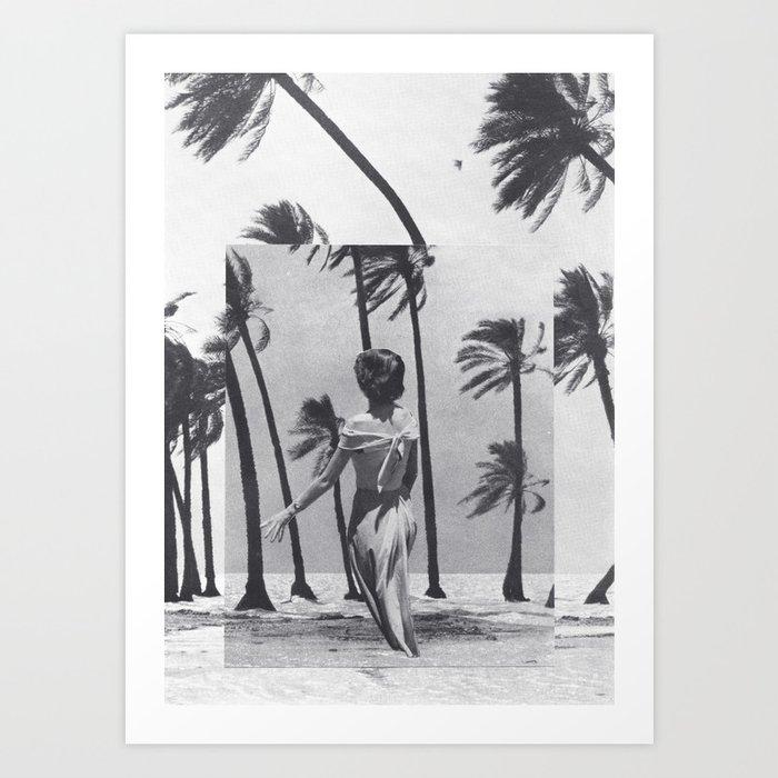 Tropical Storm Art Print