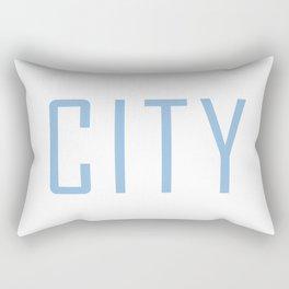 City Powder Blue Rectangular Pillow