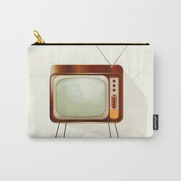 Vintage Television Carry-All Pouch