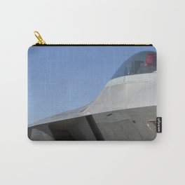 F22 F-22 Raptor Fighter Military Aircraft/Airplane Detail USAF Carry-All Pouch