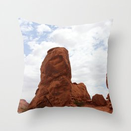 Valley of Fire Rockformation Throw Pillow