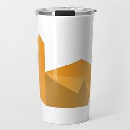 Origami Swan Travel Mug