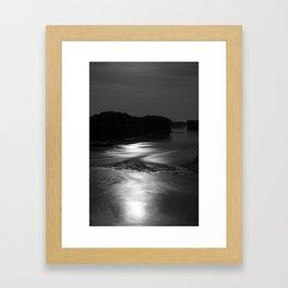 On the Kaw Framed Art Print