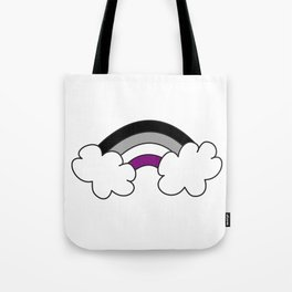 """Asexual Ace Flag """"Rainbow"""" Tote Bag"""