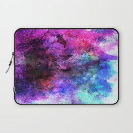 Purple Watercolor Laptop Sleeve