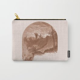 Lower Falls, Vintage Ticonderoga Carry-All Pouch