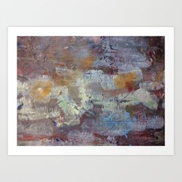 Surfaces.20 Art Print