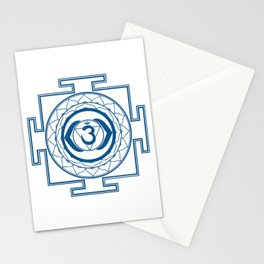 Sri Yantra Third Eye Stationery Cards