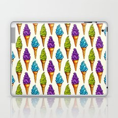 Ice Cream Blue Purple Green Laptop & iPad Skin