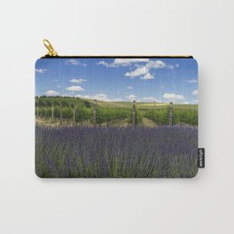 Lavender Vineyard Carry-All Pouch