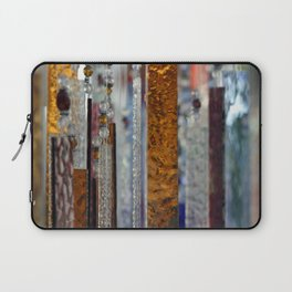 Abstract Glass Laptop Sleeve