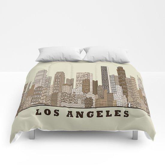 los angeles city Comforters