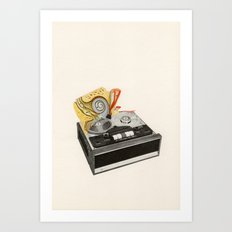 Organic Sound Art Print