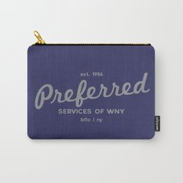 Preferred Services of WNY in Gray Carry-All Pouch