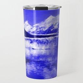Glacier Bay Blue Travel Mug