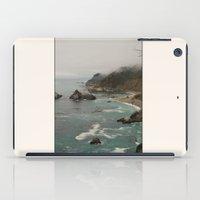 big sur iPad Cases featuring Big Sur Coastline by Natalie Alfaro