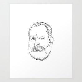 Tom Segura Art Print