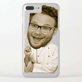Chef Rogen Clear iPhone Case