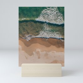 Sea beach  Mini Art Print