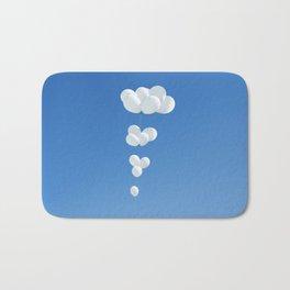 Saudade (White balloons) Bath Mat
