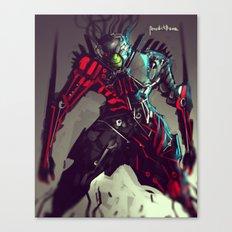 Pike Machina Reptilia Canvas Print