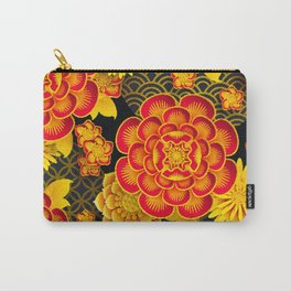 chinese flowers Carry-All Pouch