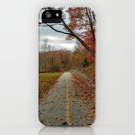 Let your nature lead the way iPhone Case