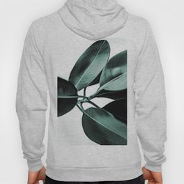 Minimal Rubber Plant Hoody