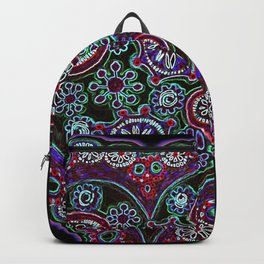 Neon Heart Backpack