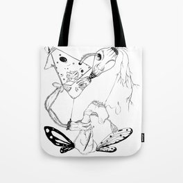 Twisted Links Tote Bag