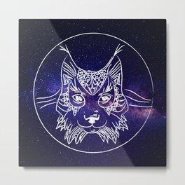 Wolf Universe Metal Print