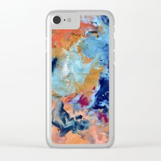 The Colour of Sound No. 1 Clear iPhone Case