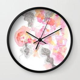 Scandi Micron Art Design   170412 Telomeres Healing 29 Wall Clock